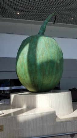 pumpkin statue portland convention center